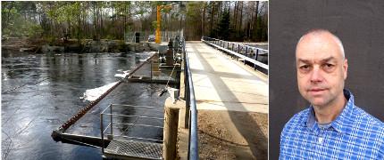 E.ON:s miljöchef: Samverkan är nyckeln för bättre miljö vid vattenkraftverk