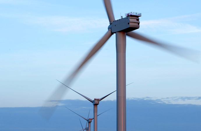 Vindkraften ger mindre vid effekttoppar