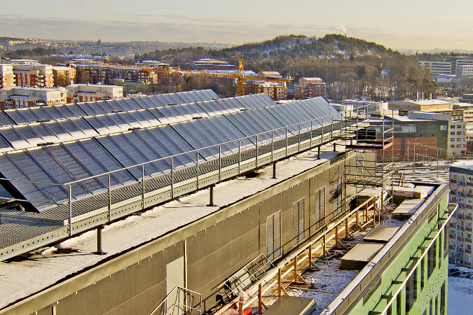 Solel pressar priser och minskar lagringsbehov