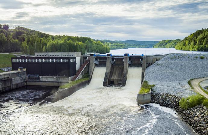 Våt höst kan återställa elmarknaden