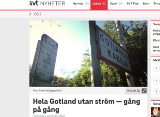 """""""Kärnkraft kan lösa Gotlands elförsörjning"""""""