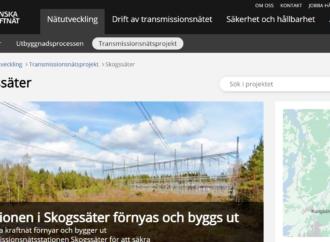 Svenska kraftnät kommenterar Mats Nilssons artikel