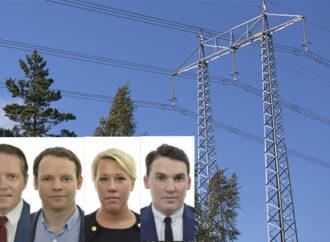 """Fyra partier om elproblem: """"otillräckliga åtgärder"""""""